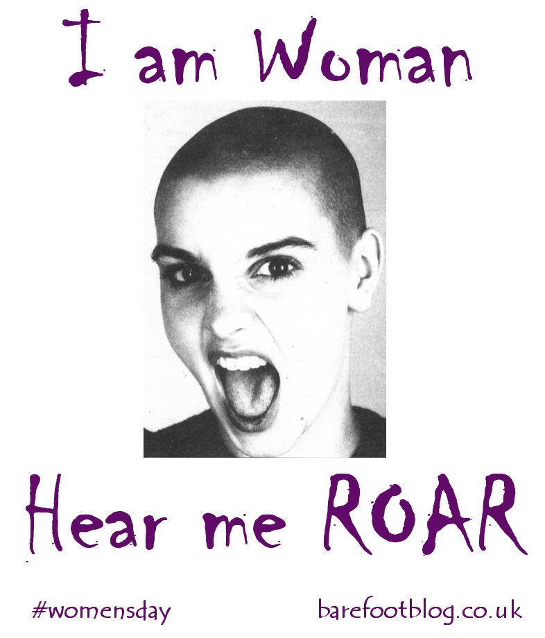 I am Woman. Hear me ROAR
