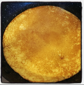 Nice even cook on pancakes without oil